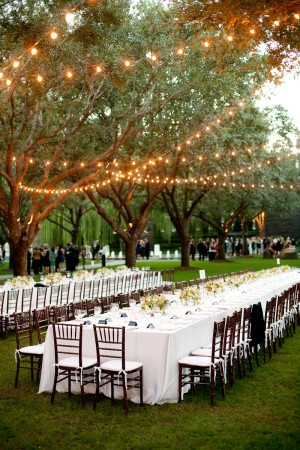 For A Smaller Wedding You Can Follow Your Ceremony With An Outdoor Movie Night Set Up White Sheet Screen Or Have Flat Surface To Project The