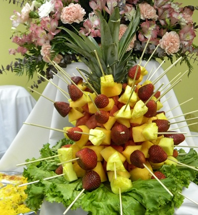 fruits centrepiece